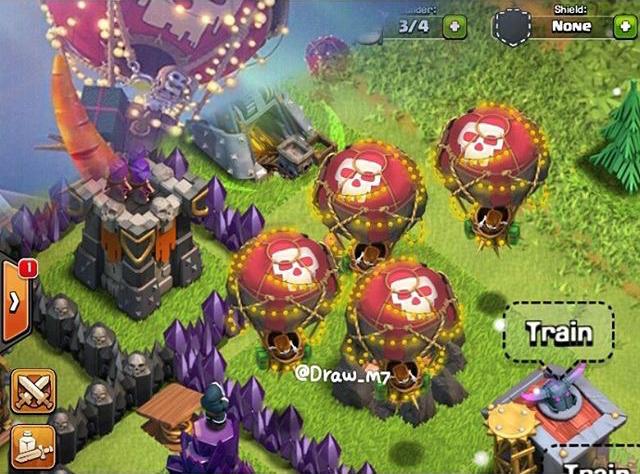 Новогодние шары Clash of Clans