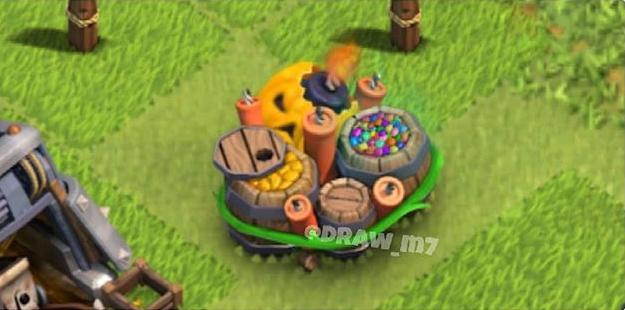 Новогодняя гиганская бомба Clash of Clans