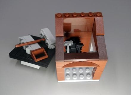 Хижина строителя LEGO
