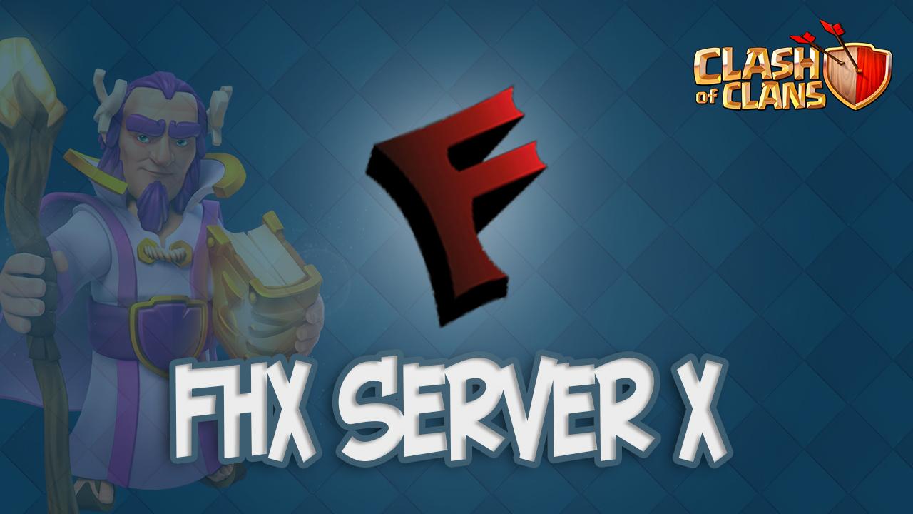 Новый FHX сервер X