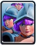 Clash Royale Три мушкетера