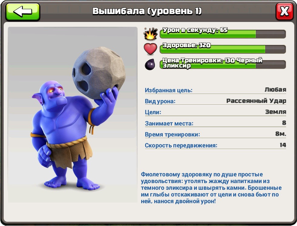Вышибала новый юнит Clash of Clans