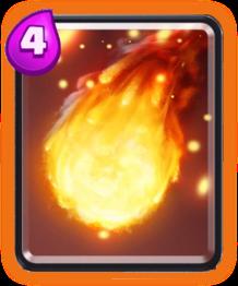Fireball/ Огенный шар - Clash Royale