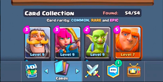 54 карты Clash Royale