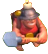 Clash of Clans Miner Шахтер