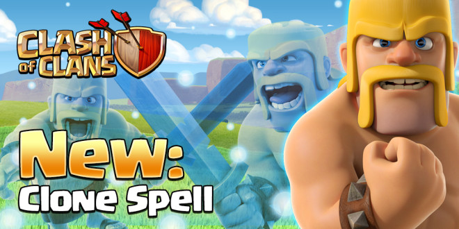Clash of Clans New Clone Spell