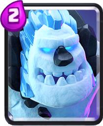 Ледяной Голем Clash Royale