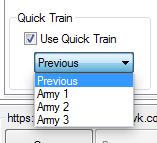 quick train mybot
