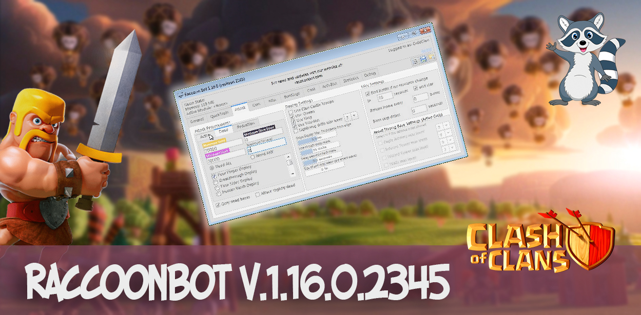 RaccoonBot v.1.16.0.2345