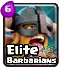 Elite Barbarian Clash Royale