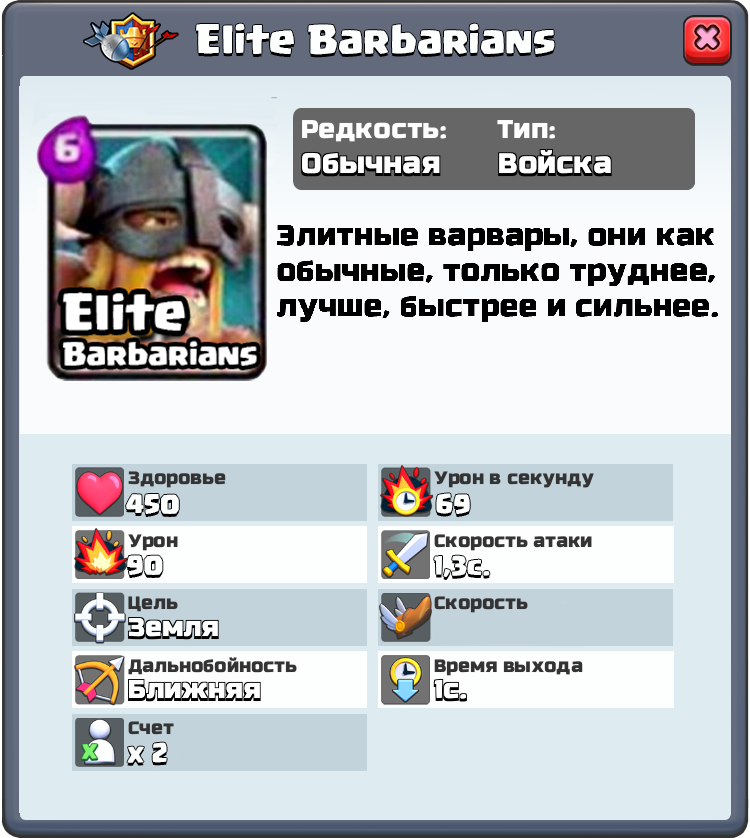 elite barbarians clash royale