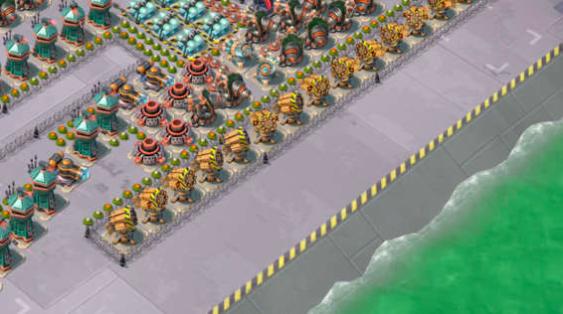 Колючая проволока boom beach