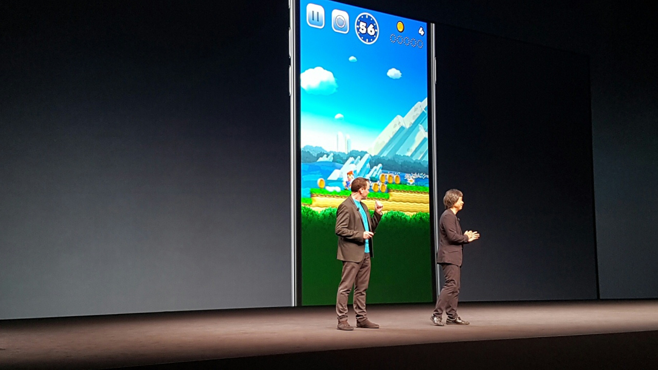 super mario run apple