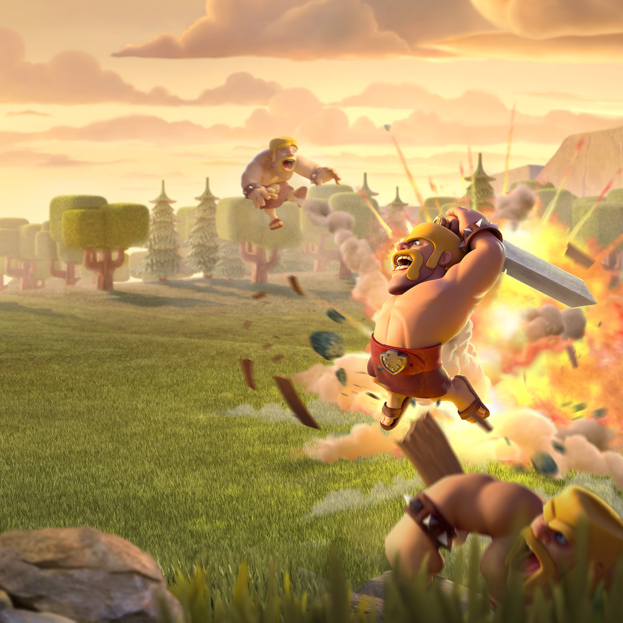 Barbarians Wallpapers Clash of Clans