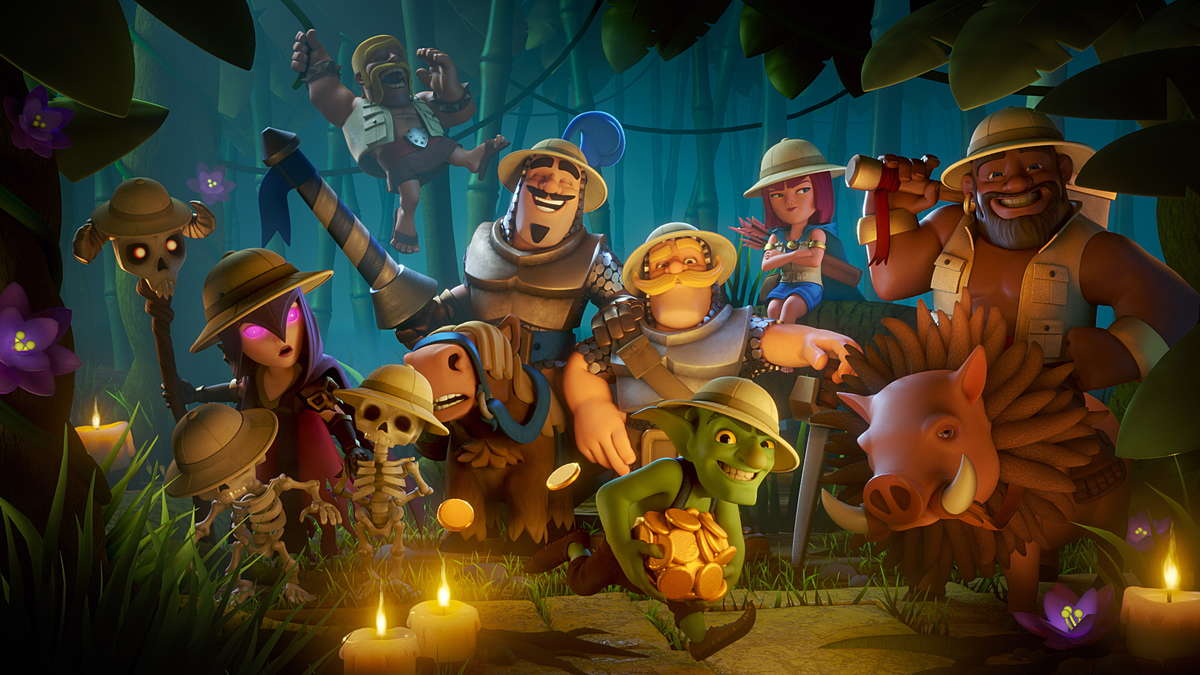 Картинки Clash Royale: Герои в Джунгли