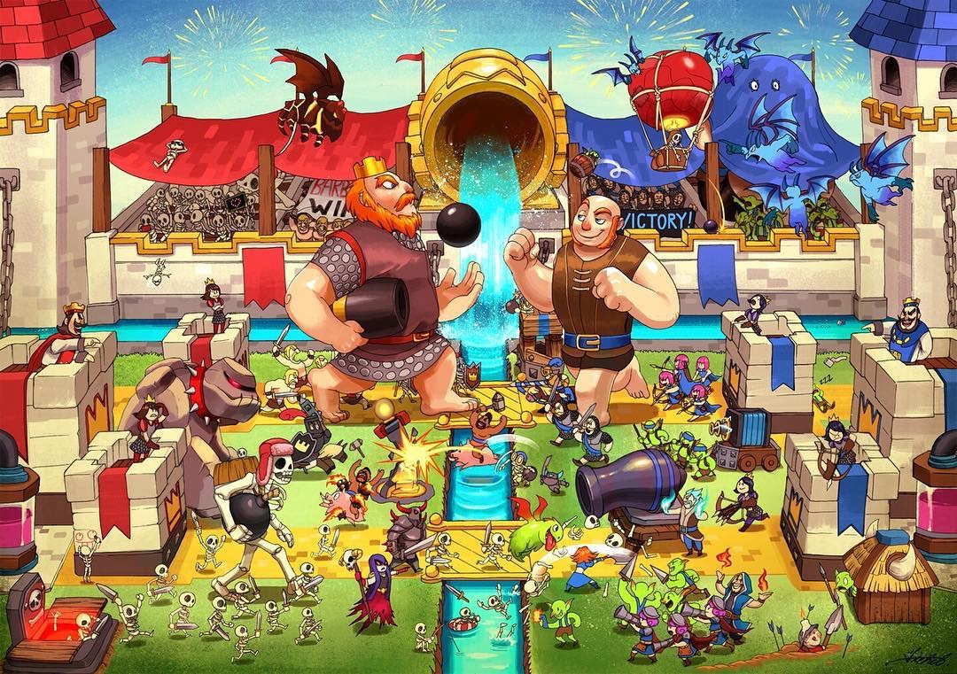 Fan Art Clash Royale