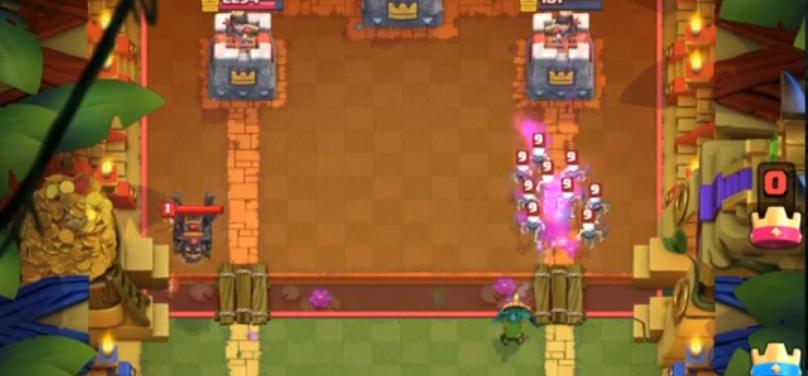 гоблин с дротиками clash royale