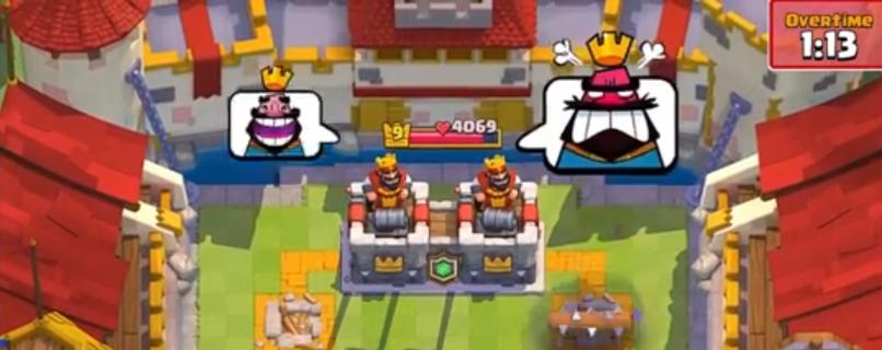 Эмоции клановый бой Clash Royale