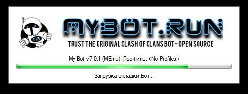 Loading MyBot v.7.0.1