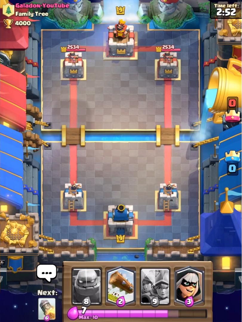 Новая легендарная арена в Clash Royale