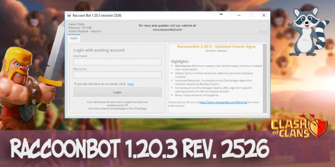 RaccoonBot v.1.20.3 rev. 2526