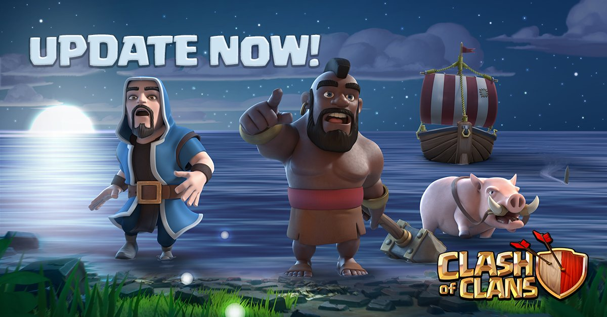 Clash of Clans 2017 мая 22
