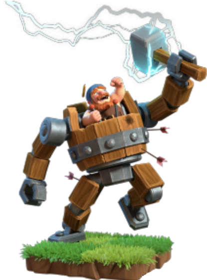 New Hero Clash of Clans Battle Machine