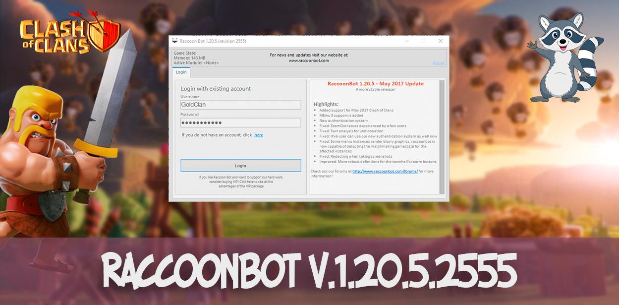 RaccoonBot v.1.20.5.2555