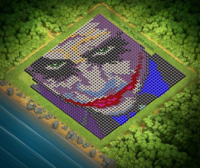 Joker Psihopat Clash of Clans