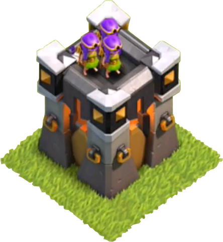 Башня Лучниц 15 Clash of Clans