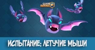 Летучие мыши Clash Royale испытание