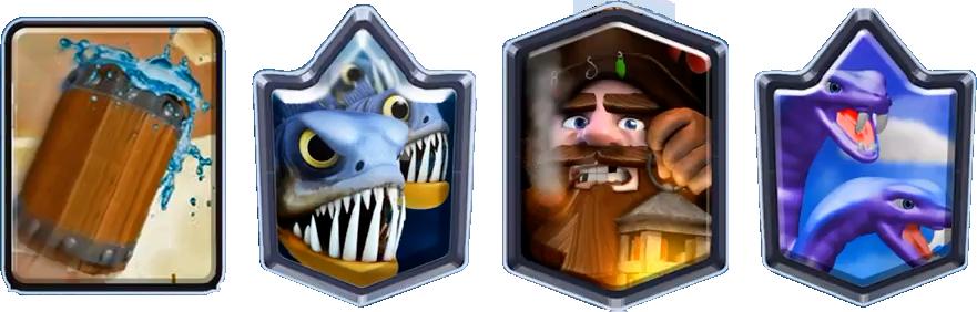 4 Новые карты в Clash Royale