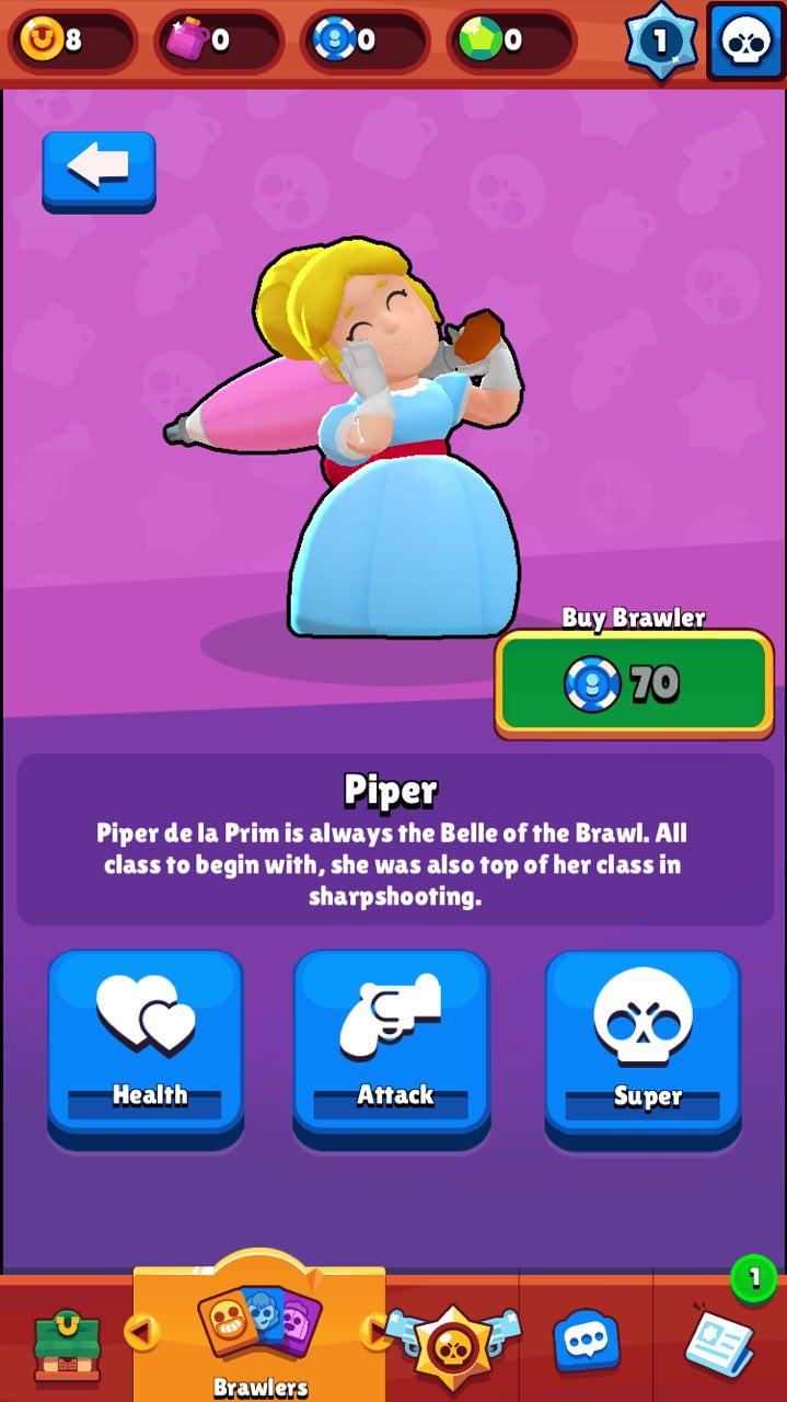 Пайпер/ Piper - Brawl Stars