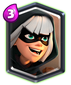 Bandit/ Бандитка - Clash Royale
