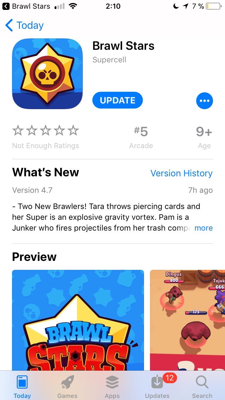 Brawl Stars v.4.7 AppStore