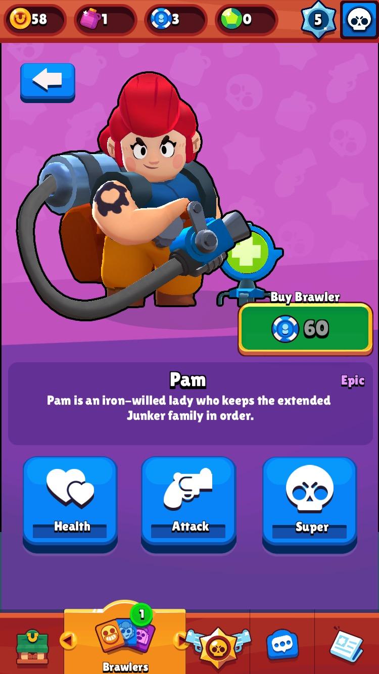 Pam - Brawl Stars