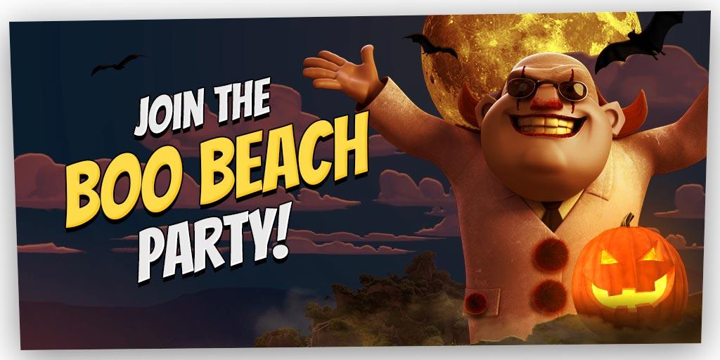 Boom Beach Halloween 2017