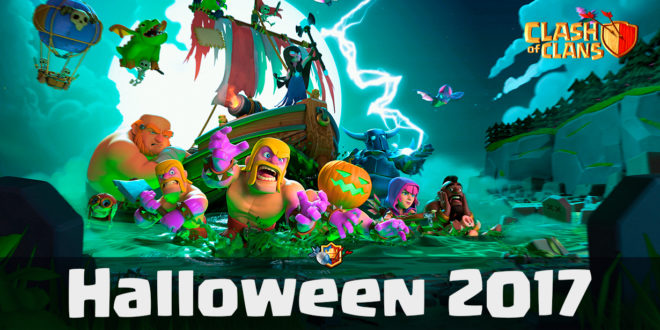 Clash of Clans Halloween 2017