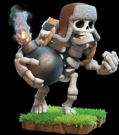Гиганский скелет Clash of Clans