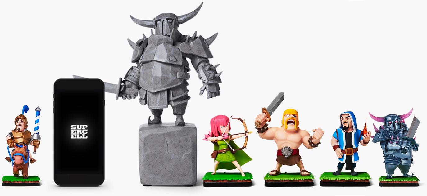 Высота и размер иконок Clash of Clans