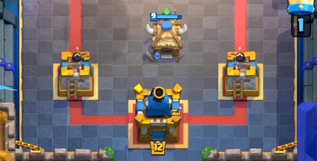Золотое оформление для башен в Clash Royale