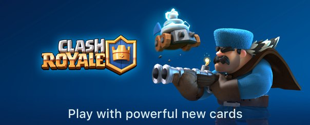 Play with powerful new cards Clash Royale