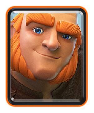 Giant/ Гигант - Clash Royale