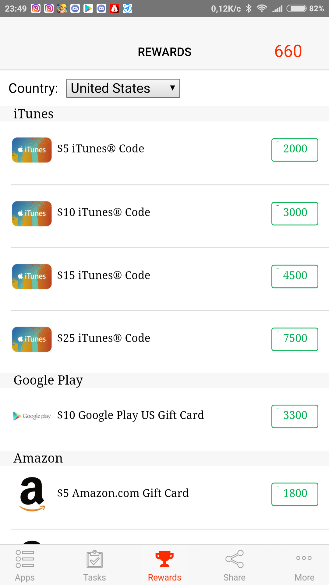 Gift Card Cash for Apps Android