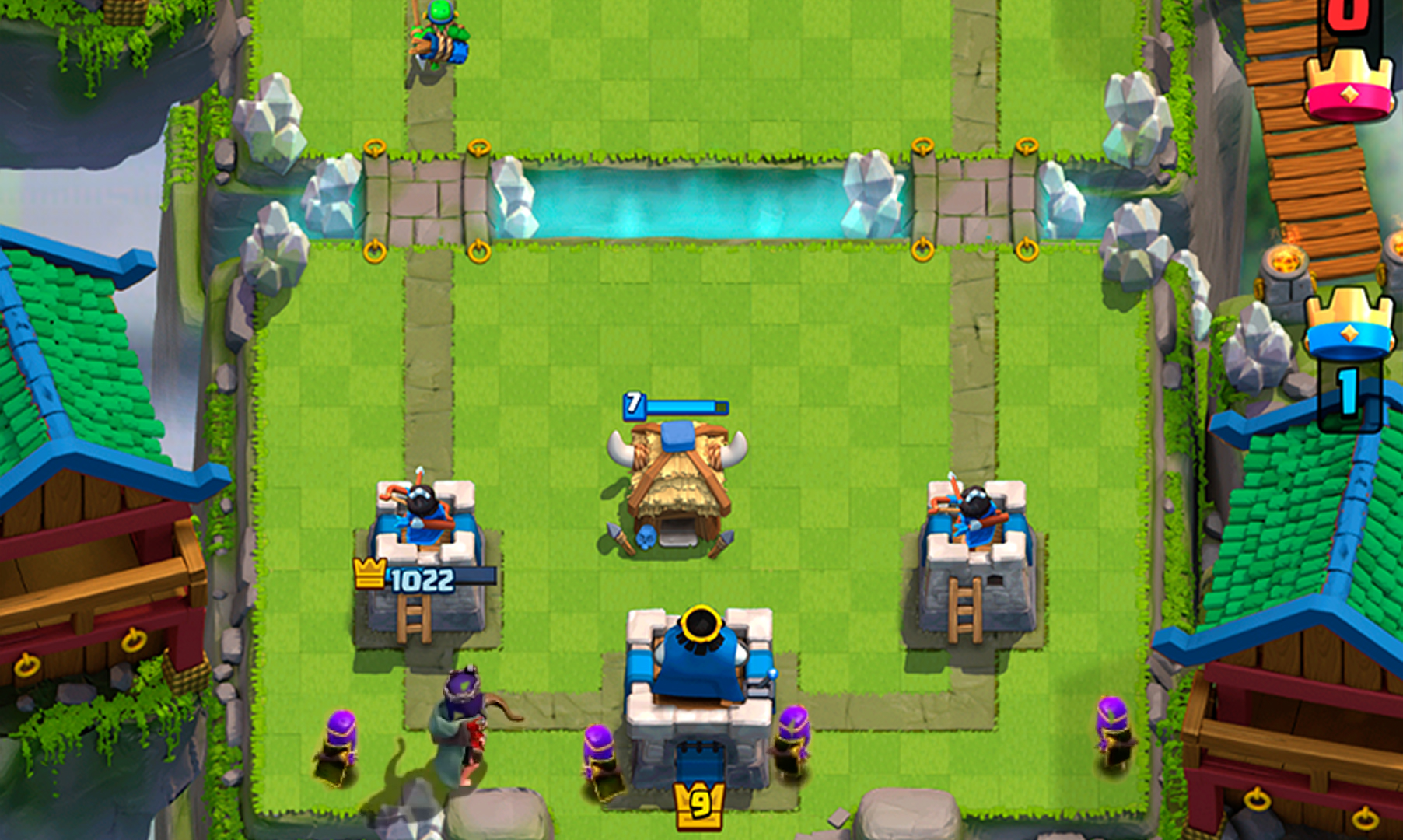 Королева лучниц в Clash Royale