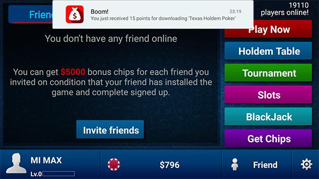 Зачисление бонусов Cash for Apps Amdroid