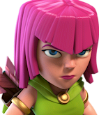 Archer/ Лучница - Clash of Clans