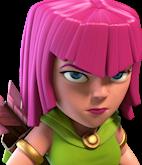 Archer/ Лучница - Clash of Clans