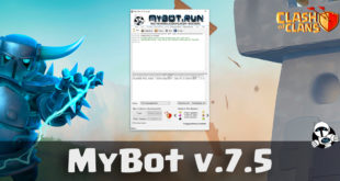 MyBot 7.5 - бот для Clash of Clans
