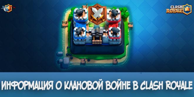 Информация о клановой войне в Clash Royale